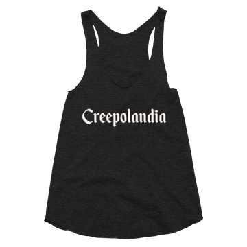 Creepolandia Women's Tri-Blend Tank Top
