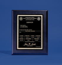 Load image into Gallery viewer, Amateur Radio License Plaque with YOUR Call Sign!