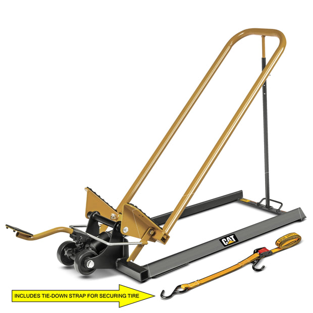 Cat 600 Lb. Mower Jack w/ Foot Pump Side Lift for Safety, Easy Assembly - 240115
