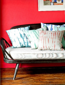 How to Dye Fabrics with Annie Sloan Chalk Paint