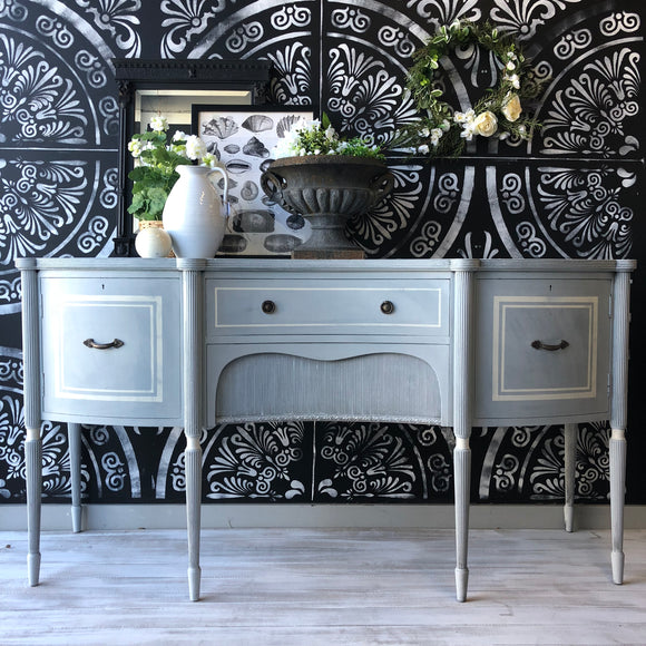 Annika Swedish Blue Buffet Inspiration