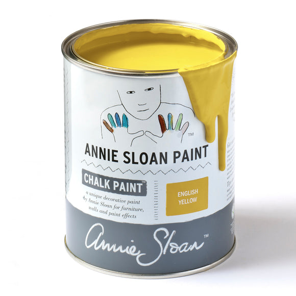English Yellow Chalk Paint