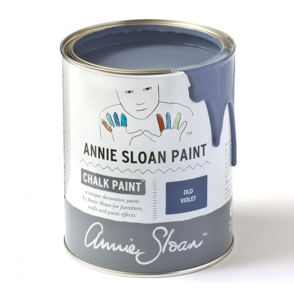 Old Violet Blue Chalk Paint