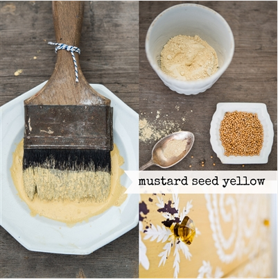 Mustard Seed Yellow - 1 Quart Milk Paint