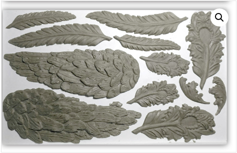 Pre order WINGS AND FEATHERS 6×10 DECOR MOULDS