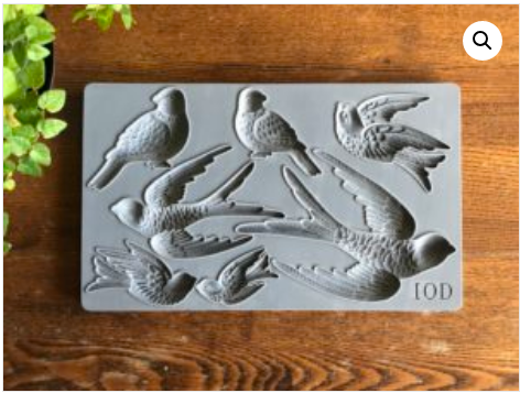 COMING SOON!  BIRDSONG 6×10 DECOR MOULDS™