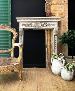 Hand Carved Fire Surround