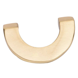 Golden U-shape Pull Knob