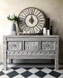 Hand Carved Moroccan Buffet