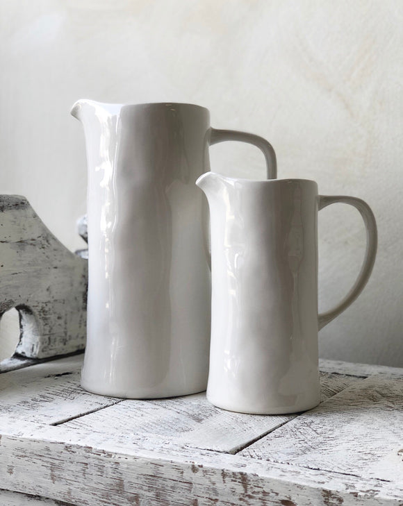 Coast Medium White Jug