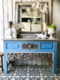 Coastal Carved Console