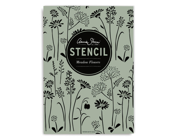 Meadow Flowers Annie Sloan Stencil