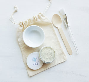 French Green Clay Mask Kit