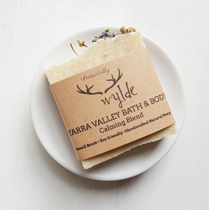 Yarra Valley Bath & Body Calming Artisan Soap by Naturally Wylde