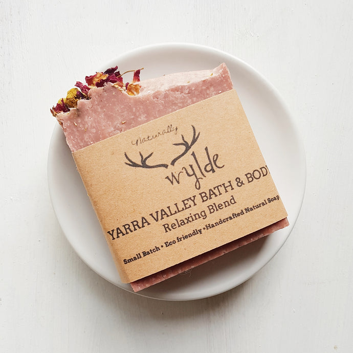 Yarra Valley Bath & Body Relaxing Soap by Naturally Wylde