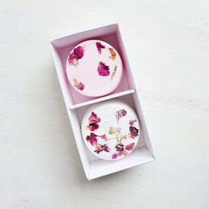Relaxing/ Rose Shower Steamers Twin Pack