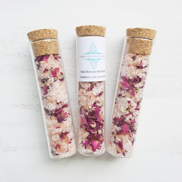 Pink Blossom Bath Salts