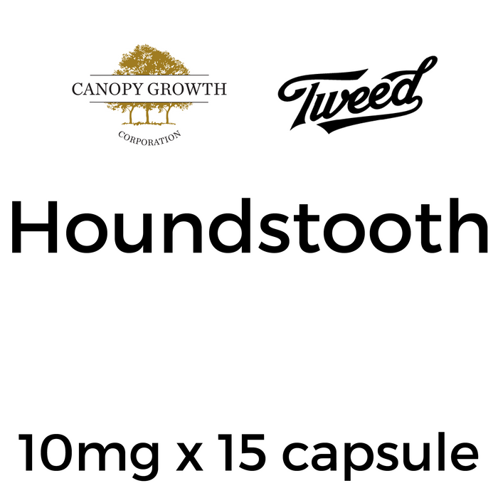 Tweed Houndstooth Capsules - 10mg