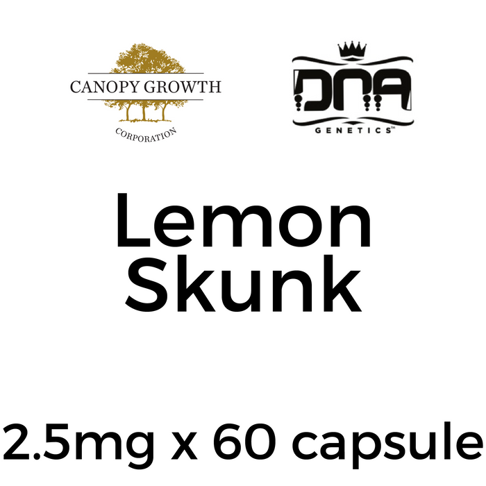 DNA Genetics Lemon Skunk Capsules - 2.5mg