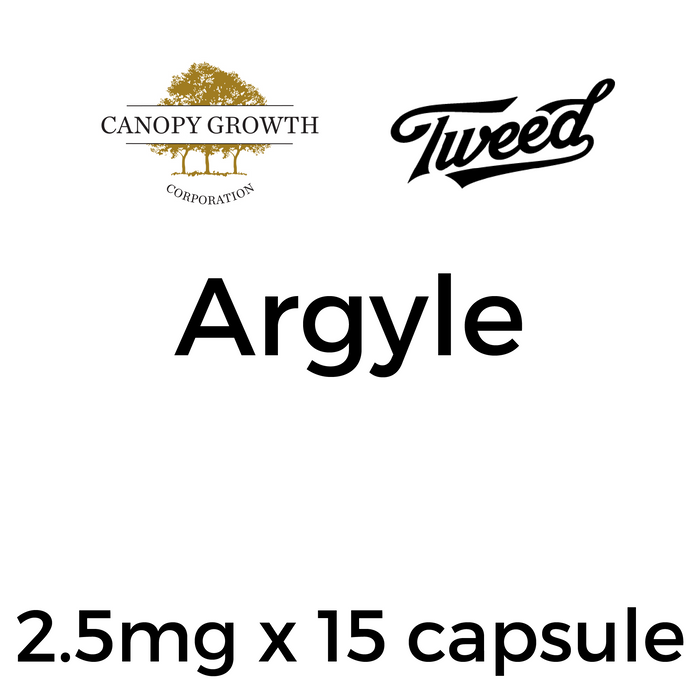 Tweed Argyle Capsules - 2.5mg