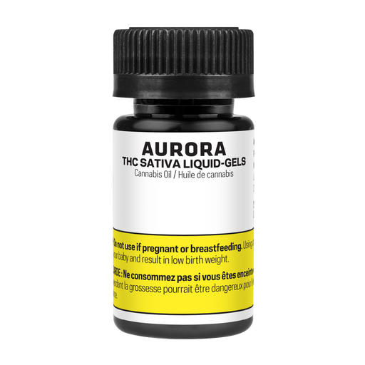 Aurora Sativa Liquid Gel Capsules