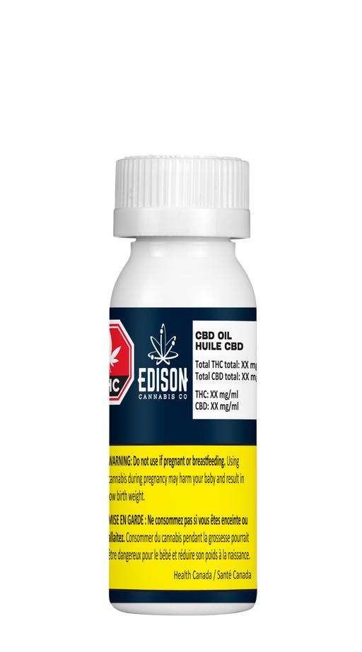 Edison CBD Oil - 25mL
