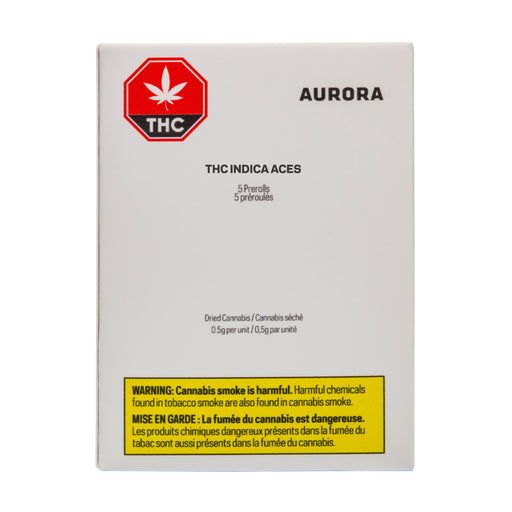 Aurora Aces Indica 5 Pack Pre-Roll