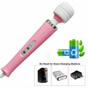 Magic Massager Plug-in Wand Vibrator, 10 Function