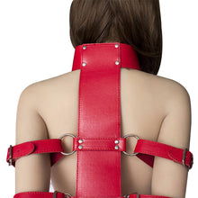 Load image into Gallery viewer, 4 Strap Armbinder Trainer with Collar Set
