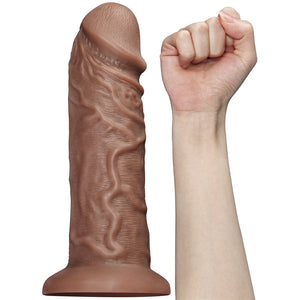 Lovetoy 10.5'' Realistic Chubby Vibrating Dildo