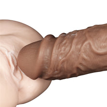Load image into Gallery viewer, Lovetoy 10.5'' Realistic Chubby Vibrating Dildo