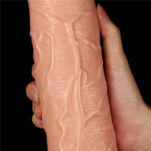 Load image into Gallery viewer, Lovetoy 11'' Realistic Long Vibrating Dildo