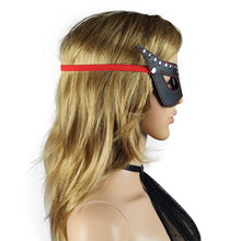 Load image into Gallery viewer, Lovetoy Bondage Fetish Masquerade Mask