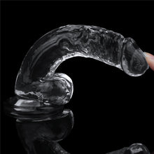 Load image into Gallery viewer, Lovetoy Flawless Clear Dildo 7.5''