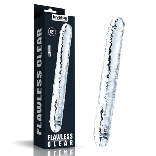 Lovetoy Flawless Clear Double dildo 12