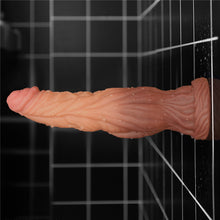 Load image into Gallery viewer, Lovetoy 9.5'' Dual layered Liquid Silicone Nature Cock