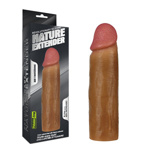 "Lovetoy Add 1"" Revolutionary Silicone Nature Extender"