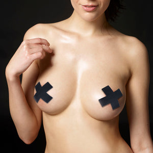 Lovetoy Cross Pattern Nipple Pasties (2 Pack)