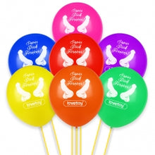 Load image into Gallery viewer, Lovetoy Super Dick Forever Bachelorette Balloons (Pack of 7)