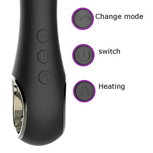 Warming Rechargeable Anal Bead Vibrator