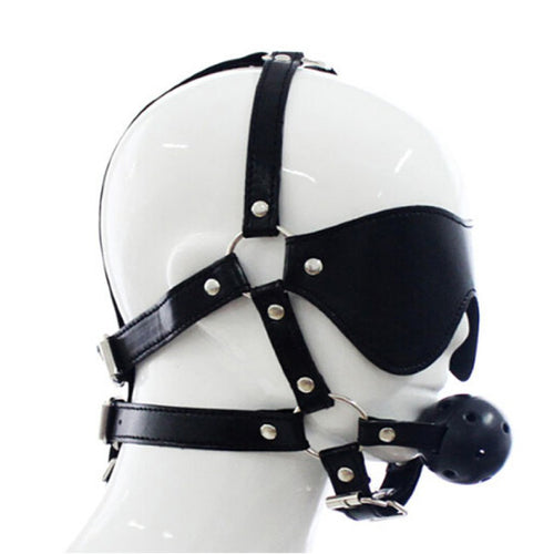 Bondage Blindfold & Ball Gag