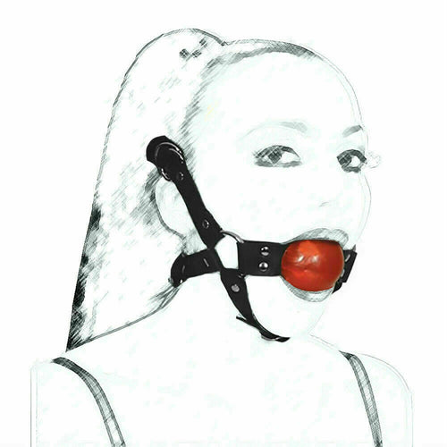 Chin Harness with Ball Gag