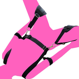 Body Harness with Arm & Thigh Restraint (Detachable)