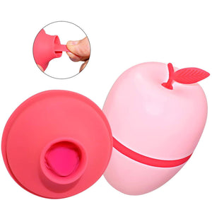 Discreet Apple Clitoral Suction Vibrator 7 Function