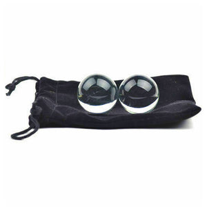 Glass Ben Wa Balls, 1 oz each