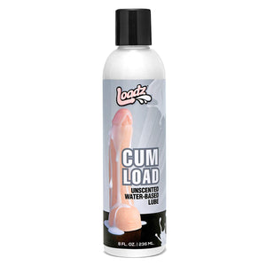 Loadz Cum Load Unscented Water-Based Semen Body Glide, 8 oz