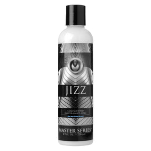 Master Series Jizz Unscented Water-Based Lube, 8 oz