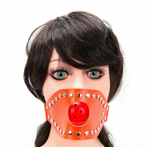 Open Mouth with Ball Gag