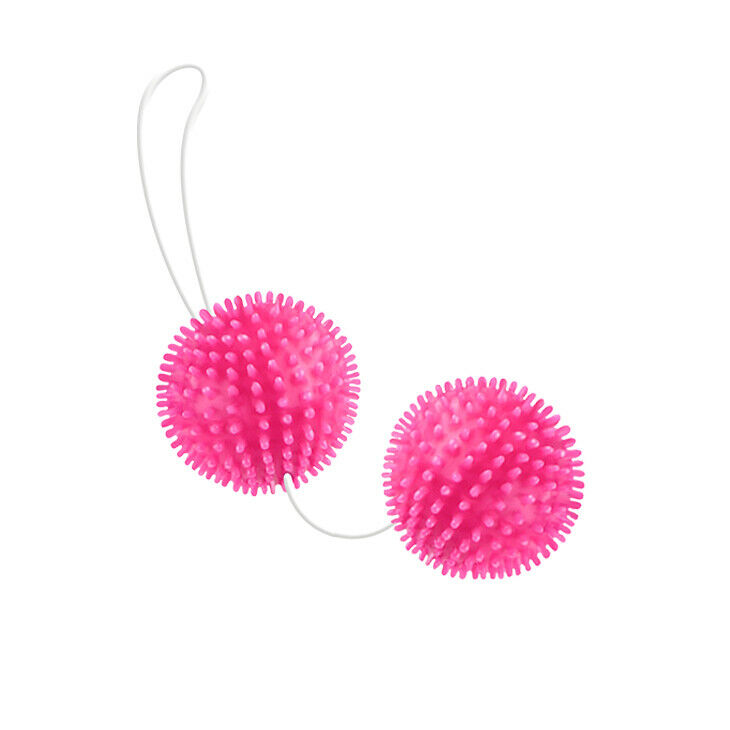 Magic Twin Love Balls with Spikes