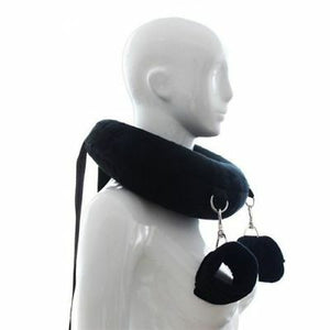 Plush Sex Position Restraint with Cuffs